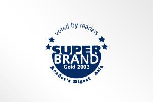 超级品牌牙膏类别金奖 - 地区包括亚洲, 香港, 马来西亚,台湾及泰国