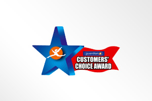马来西亚: Guardian Customers' Choice Award (Toothpaste Category)